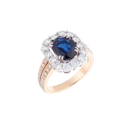 Classic Blue Sapphire Ring