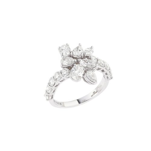 Multi-Shape Diamond Ring
