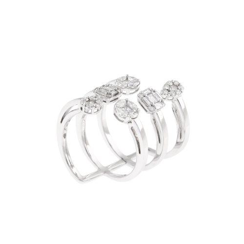 Multi Shape Diamond Ring