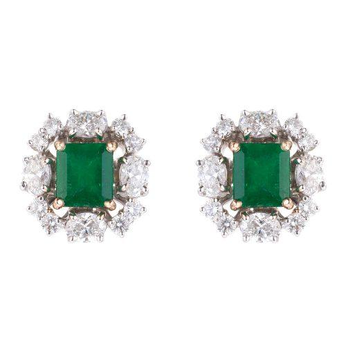 Classic Emerald Earrings